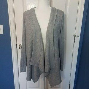 Motherhood Maternity Gray Cardigan Sweater Medium